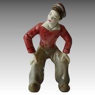 Dutch Boy Dancing Figurine