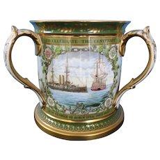 Lord Nelson Centennial Tankerd, Copeland, Porcelain