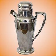 Primrose Silverplate Cocktail Shaker