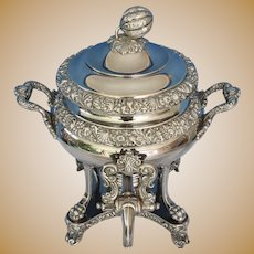 Fr. mid 19th c.  Hot Water Urn