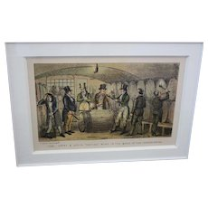 Old English Chrome Lithograph