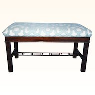 Chippendale Fretwork Bench