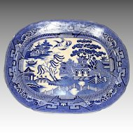 Blue Willow Platter, Allerton