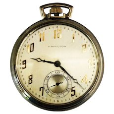 Hamilton Pocket Watch c 1908