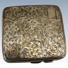 Sterling Cigarette Case, c.1875