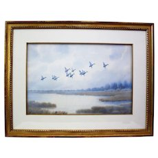 Mallards in Flight, Joseph Day Knapp