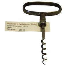 Corkscrew, Am. Cellerman c.1870's