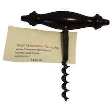 American Murphy Patent corkscrew