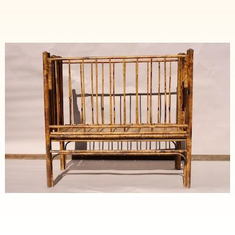Bamboo Baby Crib c.1900