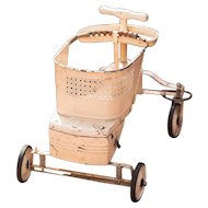 1930s Baby Walker - Shabby Chic Nursery or Toddler Photographer Prop