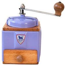 1950's Peugeot French Coffee Grinder / Mill - Provence Lavender / Violet