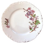 Vintage Haviland Luncheon Plates - Set of 7 - Pretty Camellia Flowers - Asian Style