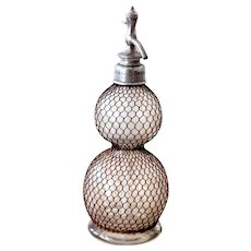 Late 1800s French Seltzogene - XL Soda Siphon - Ultra rare - Veritable Selztogene by D. Fevre