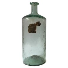 Late 1800s Connecticut medicine bottle