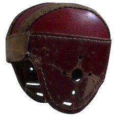 1930s Child's leather football helmet