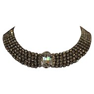 STUNNING DIAMANTE Rhinestone Collar Necklace