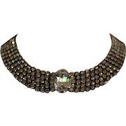 STUNNING DIAMANTE Rhinestone Collar Necklace