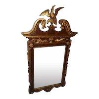 "Late 1700's Eagle Mirror Gold Gilt Design - 58"" Tall"