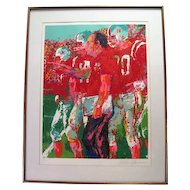 Coach Devaney, Nebraska Suite By Leroy Neiman Serigraph Signed & Numbered C.O.A.