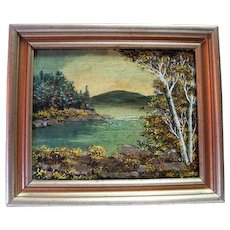 """""""Hulls Cove"""" A Hand Painted Original Oil By William H. Truitt"""