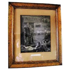 """""""Strolling Players"""" Engraving - Professionally Framed"""