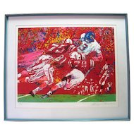 Black Shirts Creaming, Nebraska Suite By Leroy Neiman Serigraph Signed & Numbered C.O.A