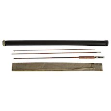 """Lot #211 -1940's """"Cook's Gunnison"""" - 8 1/2 Ft 3PC Bamboo Fishing Fly Rod"""