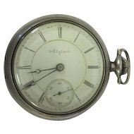 Lot #911 Elgin Spartan Pocket Watch - Great Working Condition