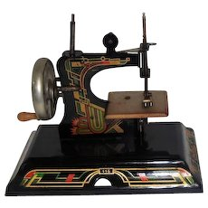 Art Deco - Casige #116 Toy Sewing Machine - Made in Germany