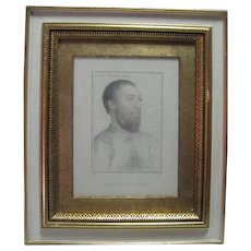 Charles Winfield Knight - Engraving - Holbein Heads - H. Meyer
