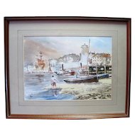 Coastal Water Color on Paper - Artist Signed Sales