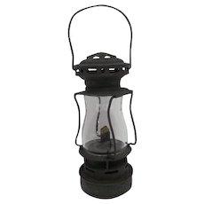 """Dietz Sport Made in U.S.A. w/Glass Globe - Small Lantern - 7 3/4"""" Tall"""