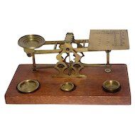 Early 1900's S.Mordan & Co. -London - Postal Balance Scale