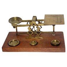 Early 1900's S.Mordan & Co. -London - Postal Balance Scale