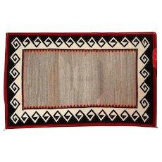 """Ganado Navajo Rug - Tight Weave - 52"""" L x 32 1/2"""" W"""