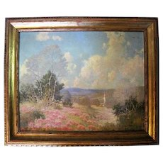 Landscape Oil Painting Signed by P.L. Hohnstedt