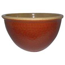 "Large Klaham'rd Ovenware 1940's Watt Pottery Mixing Bowl - 10"" Diameter"