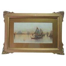 Late 19th Century - Landscape Nautical Print - S.A. Mulholland