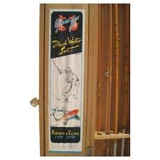 Lot #205 -Grampus Fresh Water Set -Bamboo Split Fly Rod 3PC w/Extra Tip -8ft