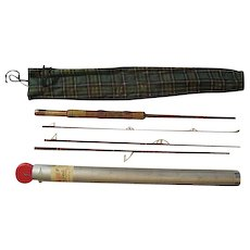 "Lot #220 -Fenwick ""Voyageur"" Faralite G167154 4PC - Fiberglass Fishing Rod - 7Ft"
