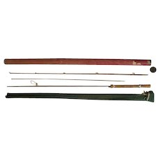 """Lot #222 -Airtex Skinning Rod """"Light"""" 2PC w/Extra Tip 7ft Bamboo Fly Rod"""