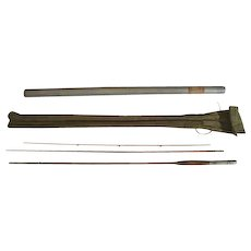 Lot #224 -Antique Early 1900's 3PC Bamboo Fly Rod - 9 Ft