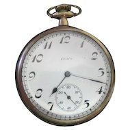 Lot #910 Elgin 15 Jewel 20 years Pocket Watch - Great Working Condition