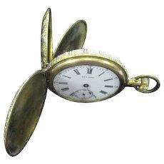 Lot #912 - Leland 1 Jewel Pocket Watch