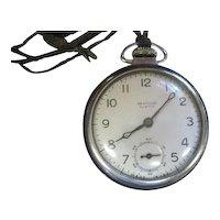 Lot #919 1958 Westclox Scotty Pocket Watch - Great Working Condition