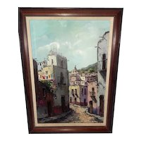 Mid to Early 1900's Oil on Canvas Signed & Professionally Framed