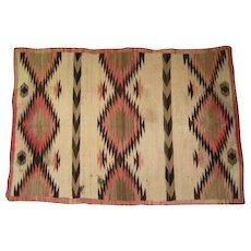 "Mid to Late 19th Century Navajo Rug - 60""L x 40""W"