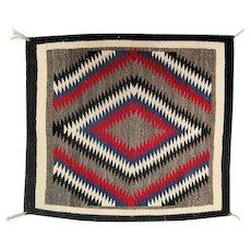 """Navajo Rug - Eye Dazzler - 29"""" L x 25 1/2"""" W"""
