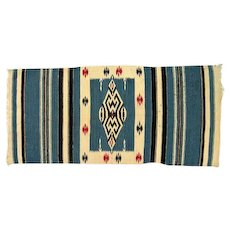 "Navajo Rug - Tight Weave - 48"" Long"