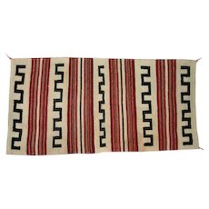 "Navajo Rug Traveling Blanket - 59 1/4"" Long"